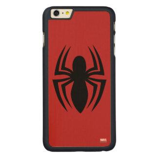 Spider-Man Spider Logo Carved® Maple iPhone 6 Plus Case