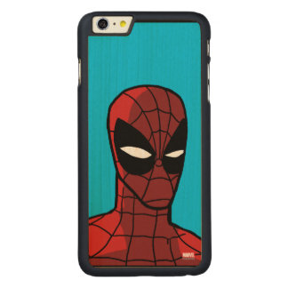 Spider-Man Stare Carved® Maple iPhone 6 Plus Case