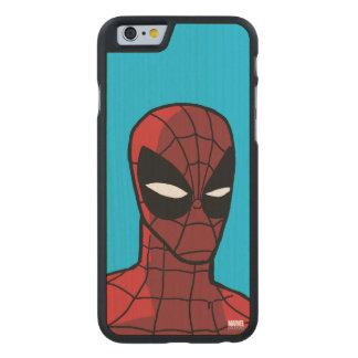 Spider-Man Stare Carved® Maple iPhone 6 Slim Case