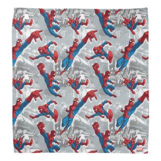 Spider-Man Swinging Over City Pattern Do-rag