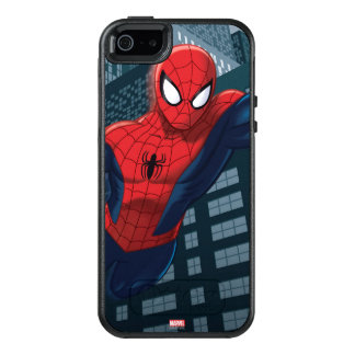 Spider-Man Swinging Through Downtown OtterBox iPhone 5/5s/SE Case
