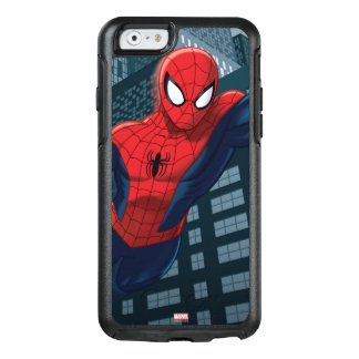 Spider-Man Swinging Through Downtown OtterBox iPhone 6/6s Case
