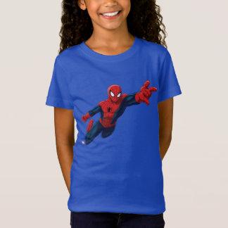 Spider-Man Swinging Through Downtown T-Shirt