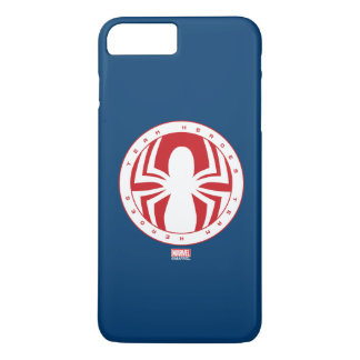 Spider-Man Team Heroes Emblem iPhone 7 Plus Case