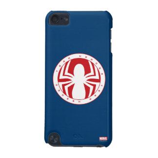 Spider-Man Team Heroes Emblem iPod Touch (5th Generation) Case