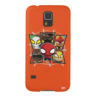 Spider-Man Team Heroes Mini Group Cases For Galaxy S5