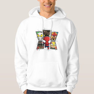 Spider-Man Team Heroes Mini Group Hooded Pullovers