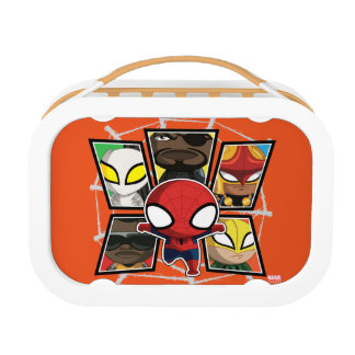 Spider-Man Team Heroes Mini Group Lunch Box
