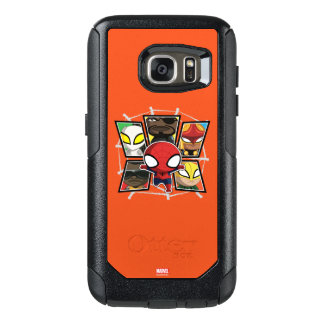 Spider-Man Team Heroes Mini Group OtterBox Samsung Galaxy S7 Case