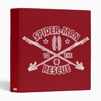 Spider-Man To The Rescue 3 Ring Binders