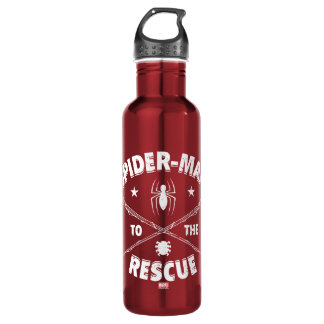 Spider-Man To The Rescue 710 Ml Water Bottle