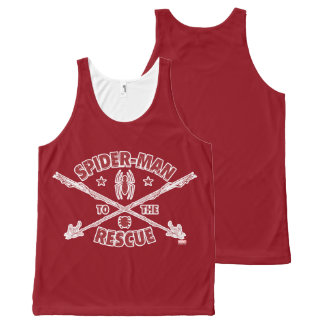 Spider-Man To The Rescue All-Over-Print Tank Top