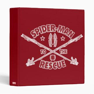 Spider-Man To The Rescue Binder