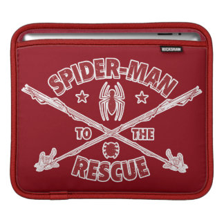 Spider-Man To The Rescue iPad Sleeve