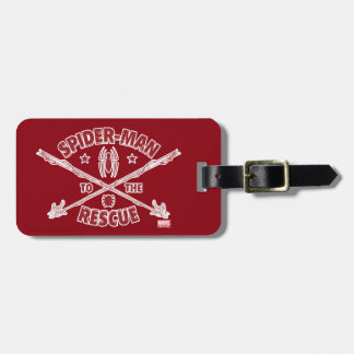 Spider-Man To The Rescue Luggage Tag