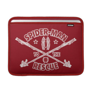 Spider-Man To The Rescue MacBook Sleeve