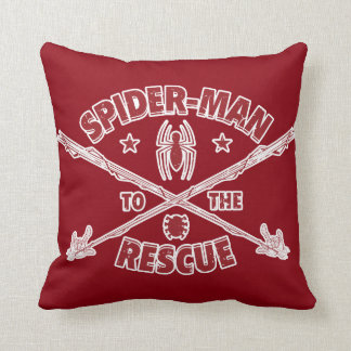 Spider-Man To The Rescue Throw Pillow