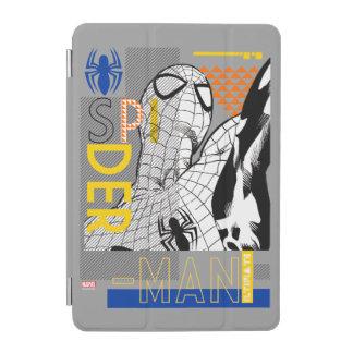 Spider-Man Ultimate Bauhaus Collage iPad Mini Cover