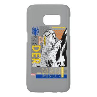 Spider-Man Ultimate Bauhaus Collage Samsung Galaxy S7 Case