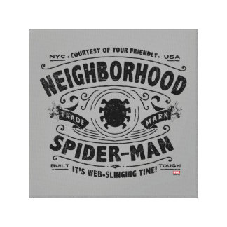 Spider-Man Victorian Trademark Canvas Print