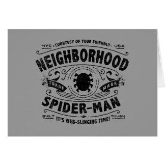 Spider-Man Victorian Trademark Card
