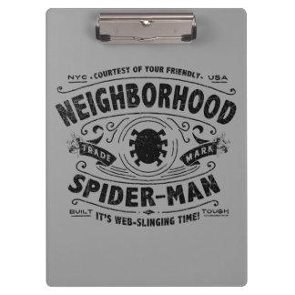 Spider-Man Victorian Trademark Clipboard