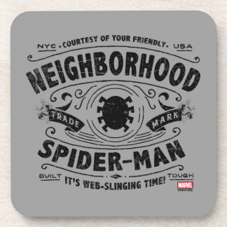 Spider-Man Victorian Trademark Coaster