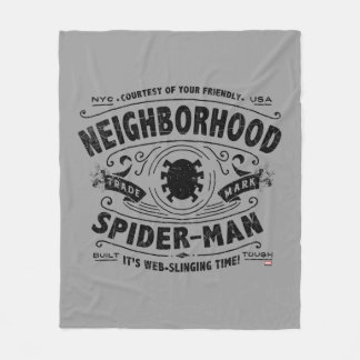 Spider-Man Victorian Trademark Fleece Blanket