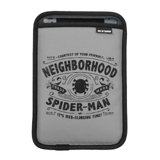 Spider-Man Victorian Trademark iPad Mini Sleeve