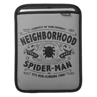 Spider-Man Victorian Trademark iPad Sleeve
