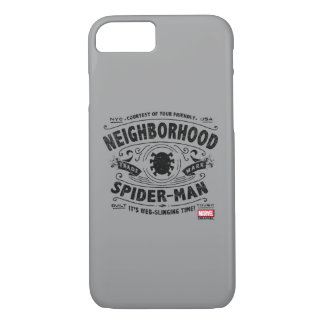 Spider-Man Victorian Trademark iPhone 7 Case