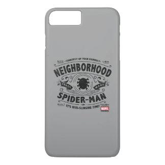Spider-Man Victorian Trademark iPhone 8 Plus/7 Plus Case