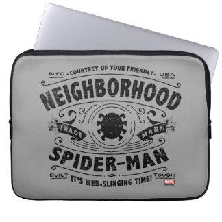 Spider-Man Victorian Trademark Laptop Sleeve