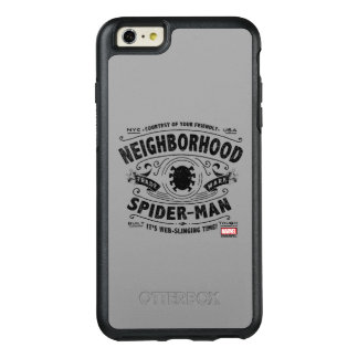 Spider-Man Victorian Trademark OtterBox iPhone 6/6s Plus Case
