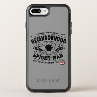 Spider-Man Victorian Trademark OtterBox Symmetry iPhone 8 Plus/7 Plus Case