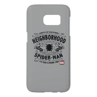 Spider-Man Victorian Trademark Samsung Galaxy S7 Case
