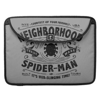 Spider-Man Victorian Trademark Sleeve For MacBooks