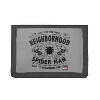 Spider-Man Victorian Trademark Tri-fold Wallets