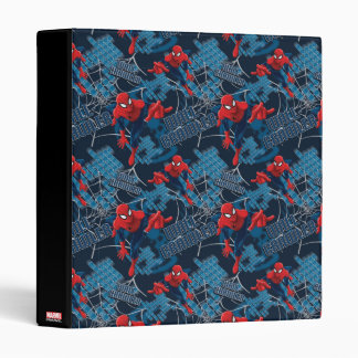 Spider-Man Wall Crawler Pattern 3 Ring Binders