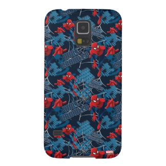 Spider-Man Wall Crawler Pattern Galaxy S5 Cover