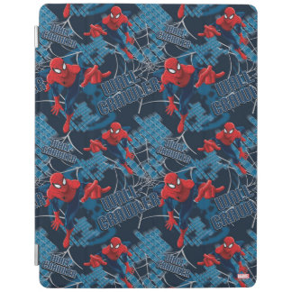 Spider-Man Wall Crawler Pattern iPad Cover
