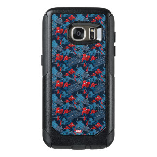 Spider-Man Wall Crawler Pattern OtterBox Samsung Galaxy S7 Case
