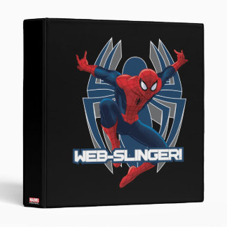 Spider-Man Web-Slinger Graphic 3 Ring Binders