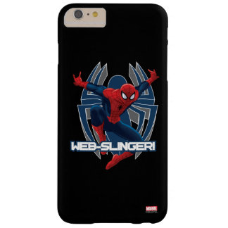 Spider-Man Web-Slinger Graphic Barely There iPhone 6 Plus Case