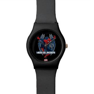 Spider-Man Web-Slinger Graphic Wrist Watch