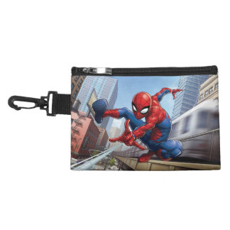 Spider-Man Web Slinging By Train Accessory Bag