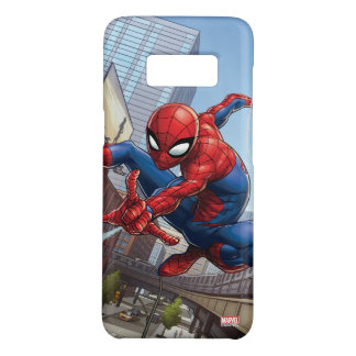 Spider-Man Web Slinging By Train Case-Mate Samsung Galaxy S8 Case