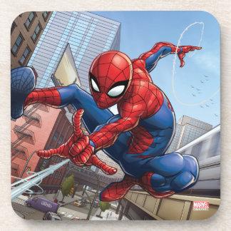 Spider-Man Web Slinging By Train Coaster