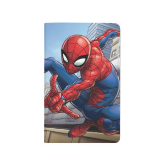 Spider-Man Web Slinging By Train Journal