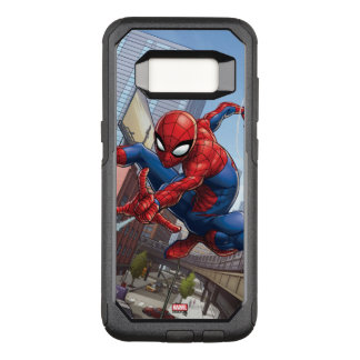 Spider-Man Web Slinging By Train OtterBox Commuter Samsung Galaxy S8 Case